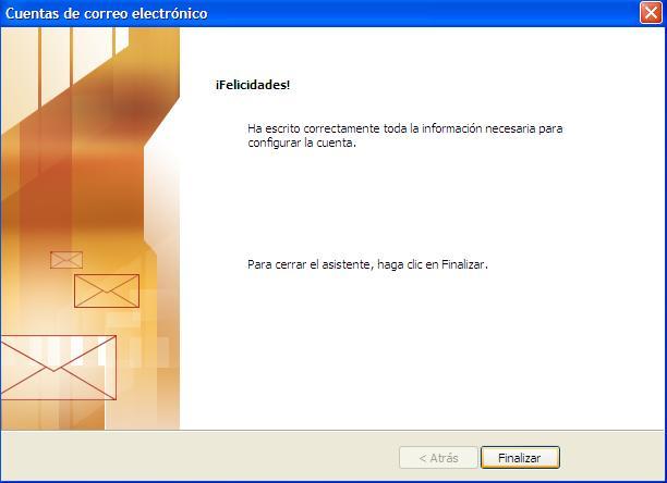 onfigurar correo electrónico
