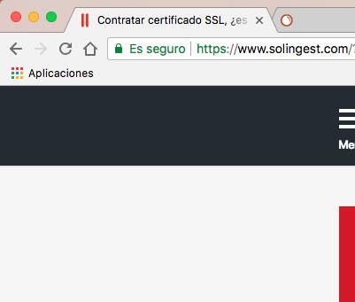 Contratar Certificado SSL Seguridad Solingest