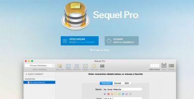 Sequel Pro, gestor MySQL para Mac OS X