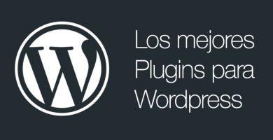 Los mejores plugins WordPress del 2018